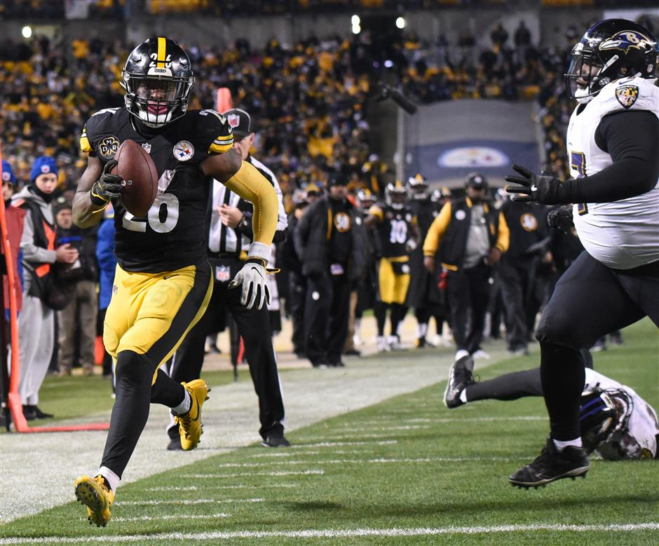 Steelers wrap up AFC North title, set up showdown with Pats