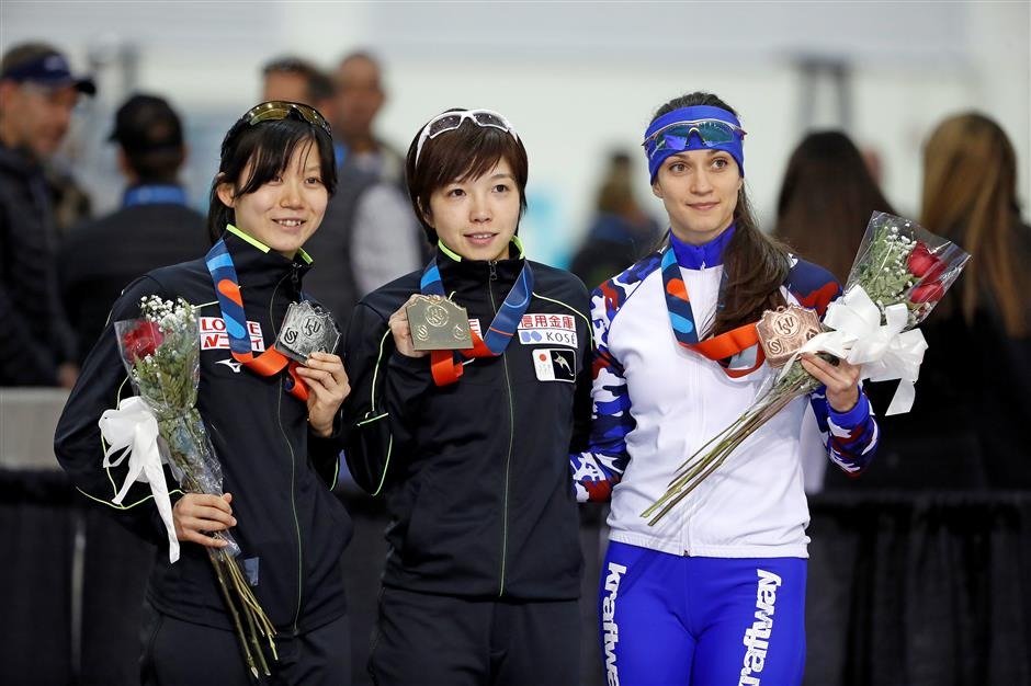 Kodaira, Bloemen set speedskating records at World Cup