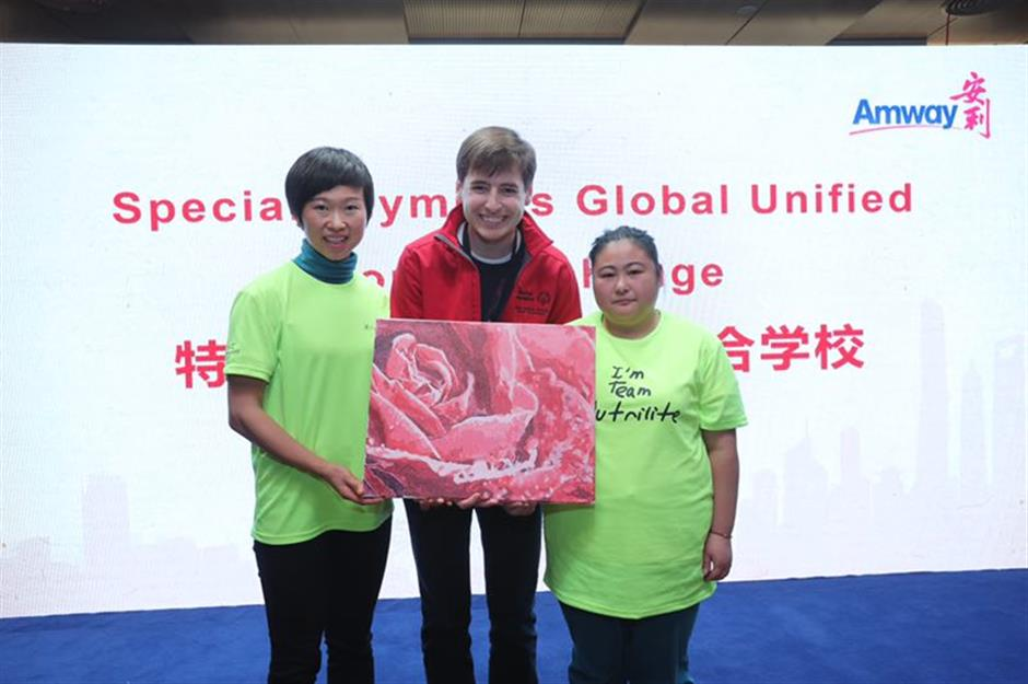 Amway dedicated to the spirit and soul of the Special Olympics