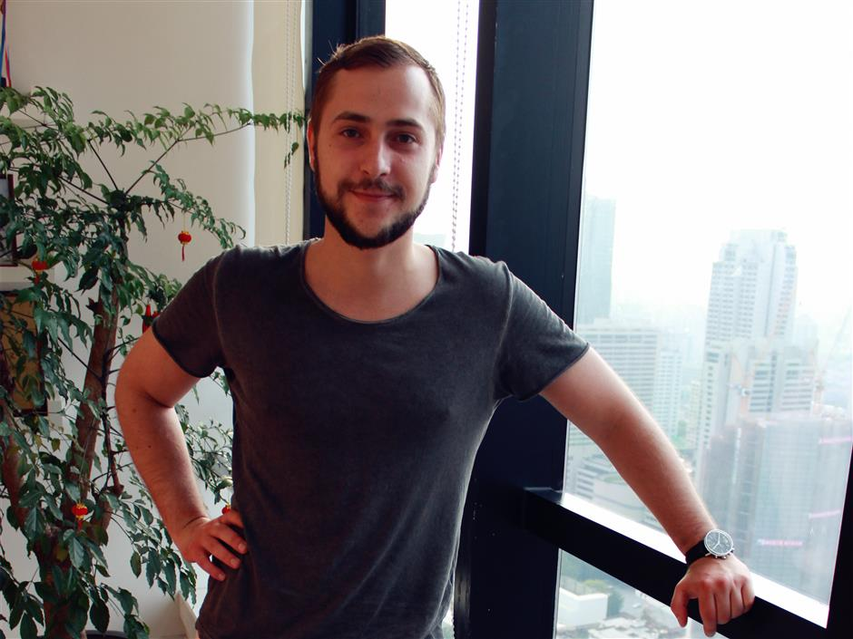 Max from Ukraine has found love, but he's still searching for his Shanghai