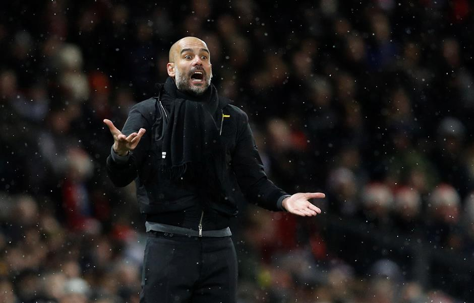 Pep defends City celebrations after derby win
