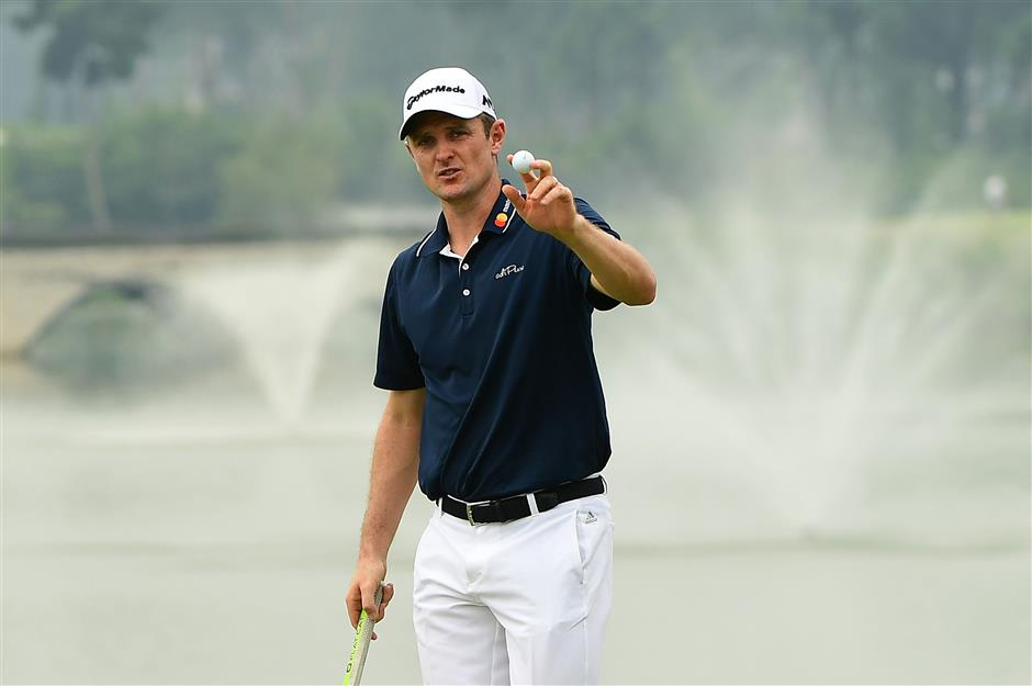 Rose storms to Indonesian Masters lead