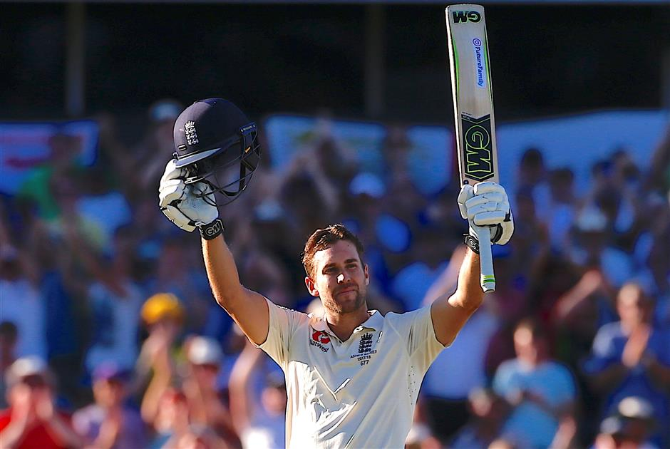 Malan inspires England with first ton of series