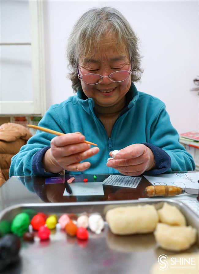 Nimble fingers turn dough into delicate art