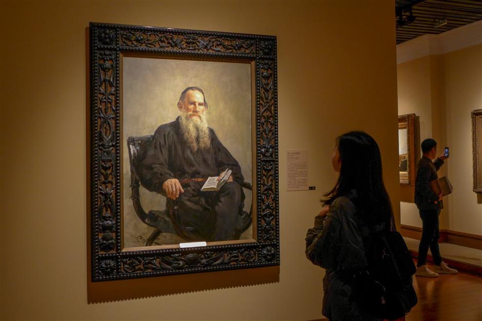 Wanderers' Russian art on display