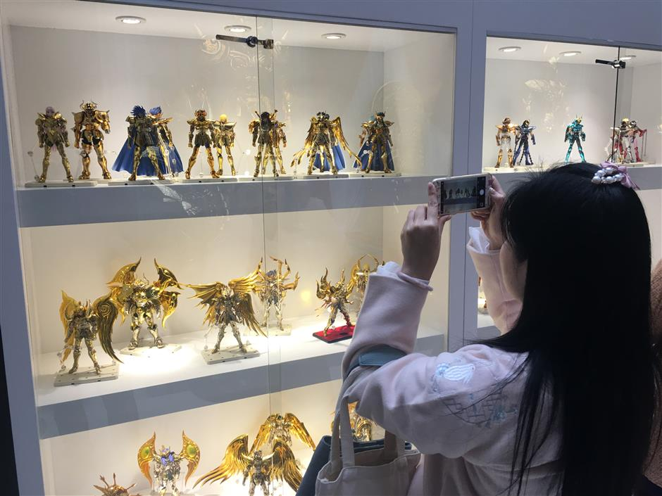 Exhibition begins on popular Japanese cartoon