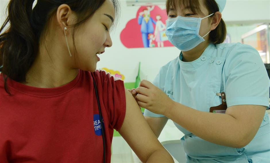 Boom in HPV vaccinations shows Chinese women's growing health consciousness