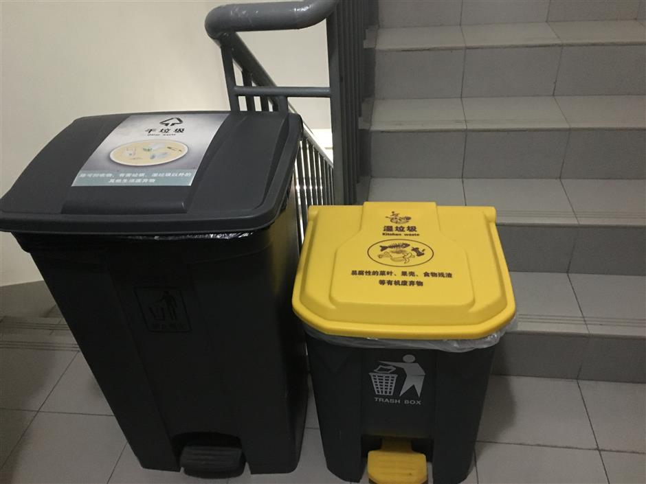 Garbage sorting for a cleaner environment