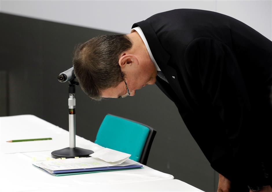 Subaru CEO returns pay amid scandal