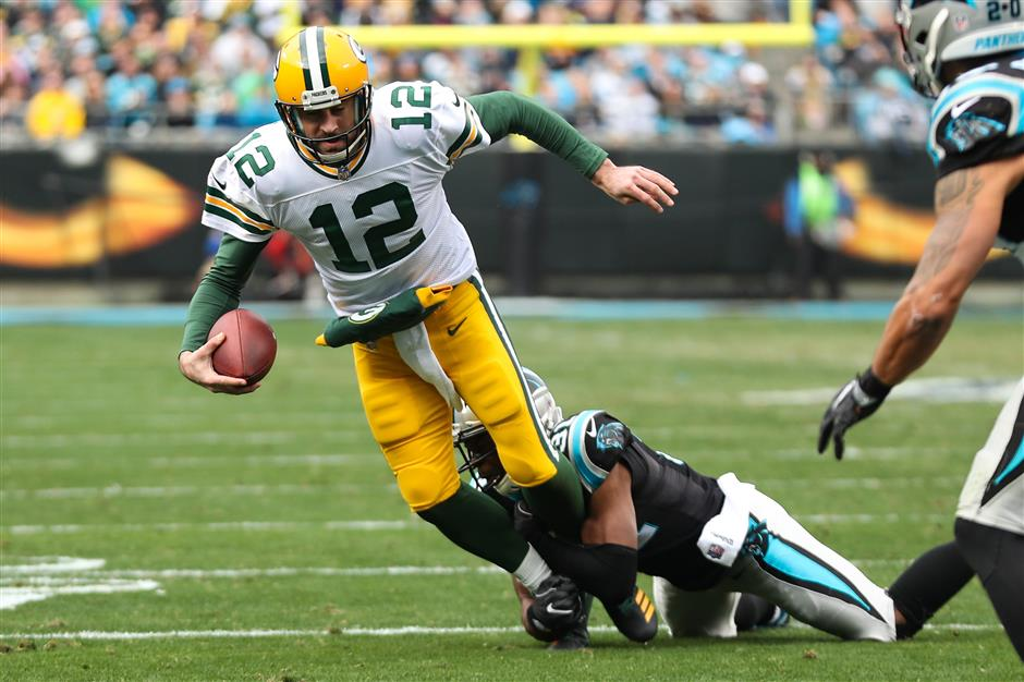 Green Bay QB Rodgers done for season