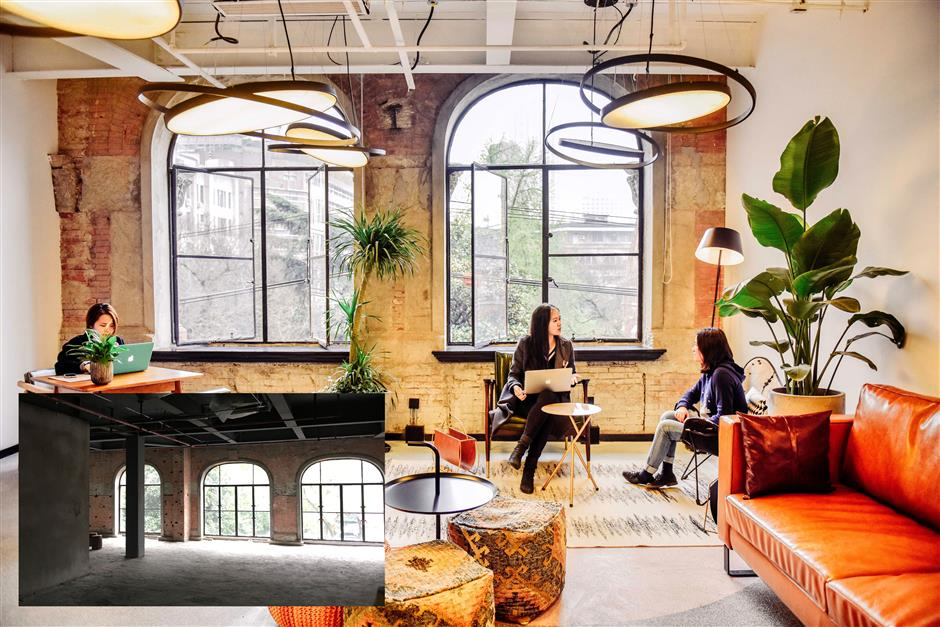 Shared office gives new lease of life to century old space