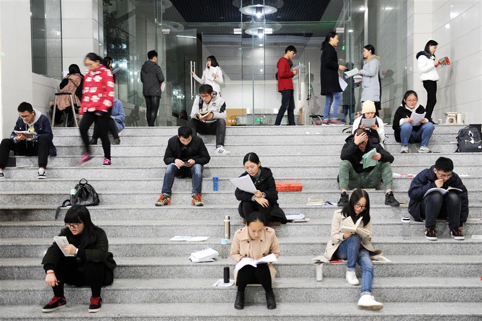Nearly 2.4m Chinese to sit postgraduate entrance exam