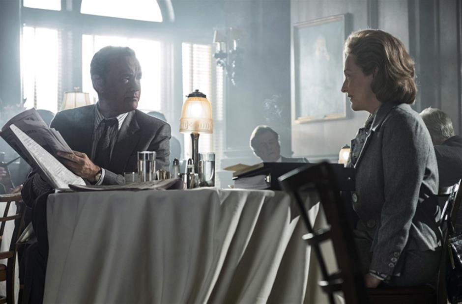 Spielberg delivers in 'The Post'