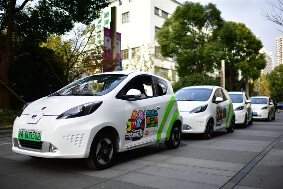 Electric cars spruced up for green transport