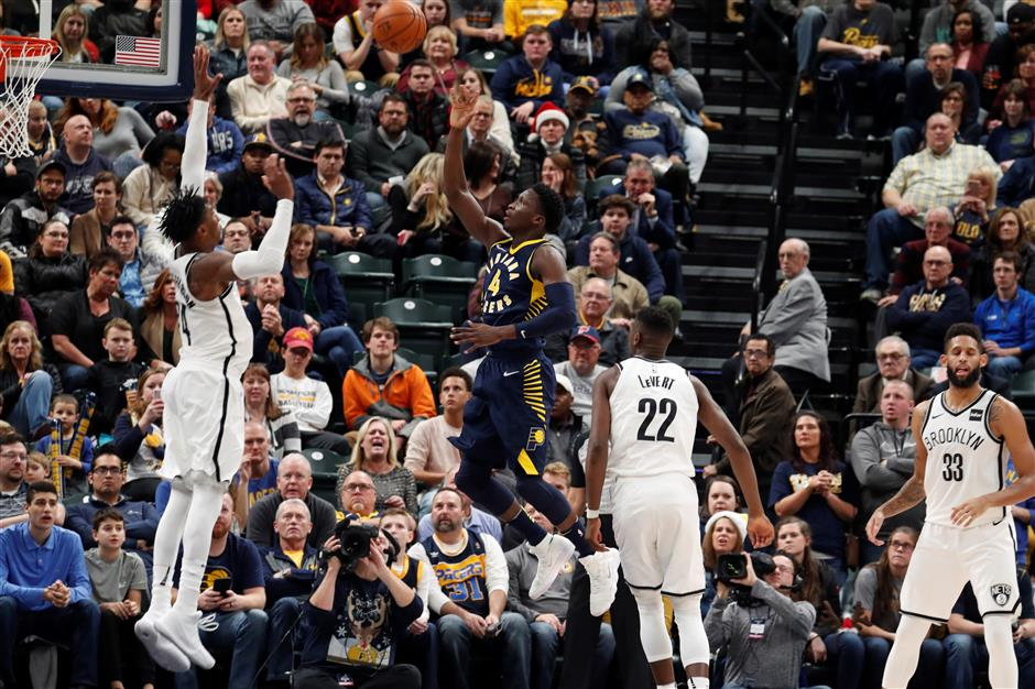 Pacers guard Oladipo finally showing the promise he once projected