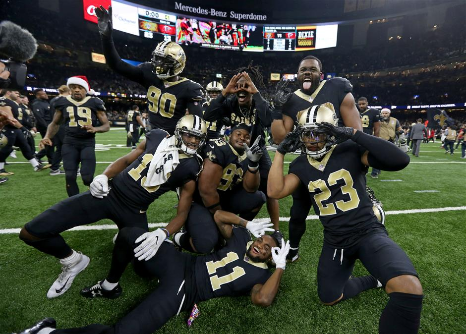 Saints, Rams, Chiefs, Panthers seal playoff spots