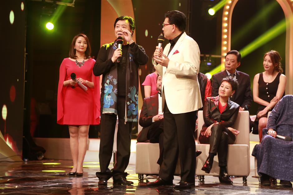 New Year TV gala shows off elderly people's talents