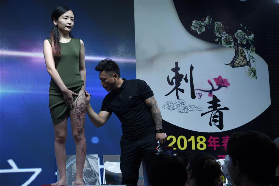 Tattooed and proud: Chinese women peel away stigmas