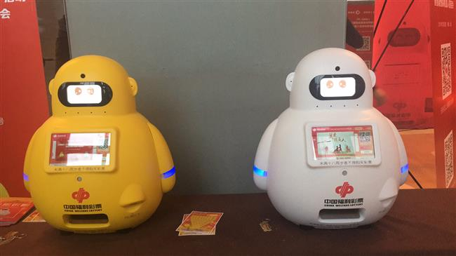 Now, robots sell welfare lottery tickets
