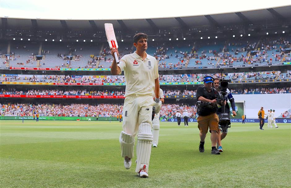 Cook double-century puts England in command