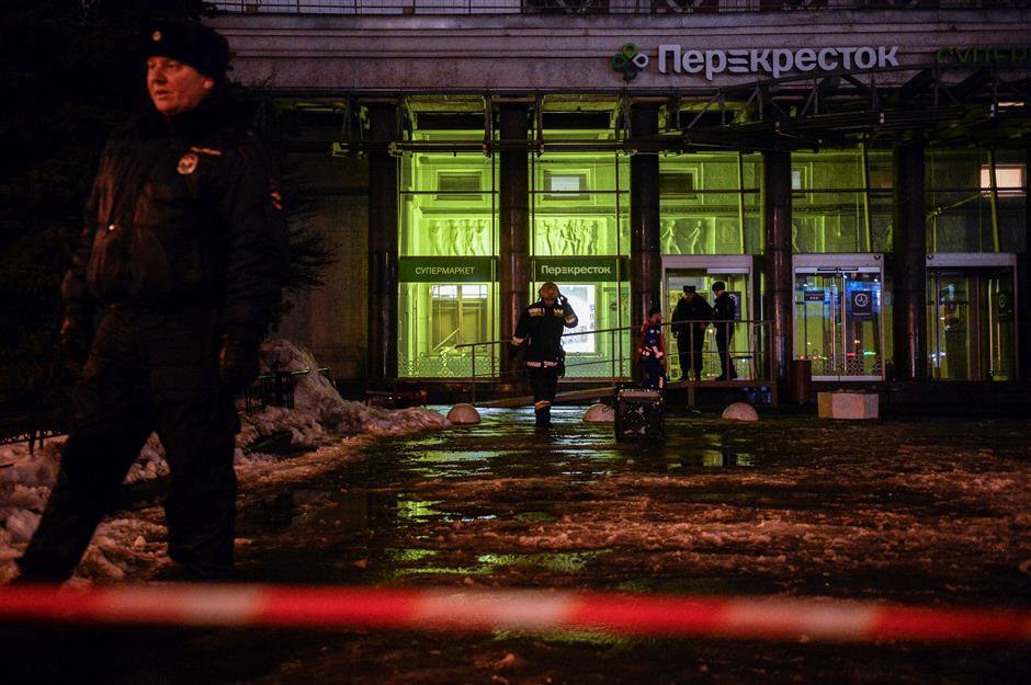 10 people injured in St. Petersburg store explosion: Russian authorities