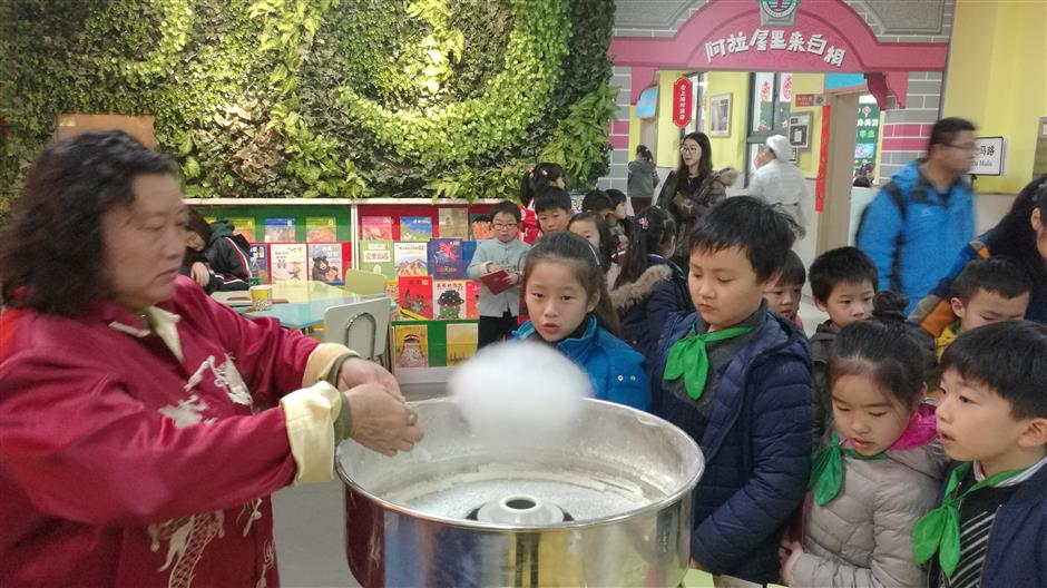 Schools organize events to ring in the new year