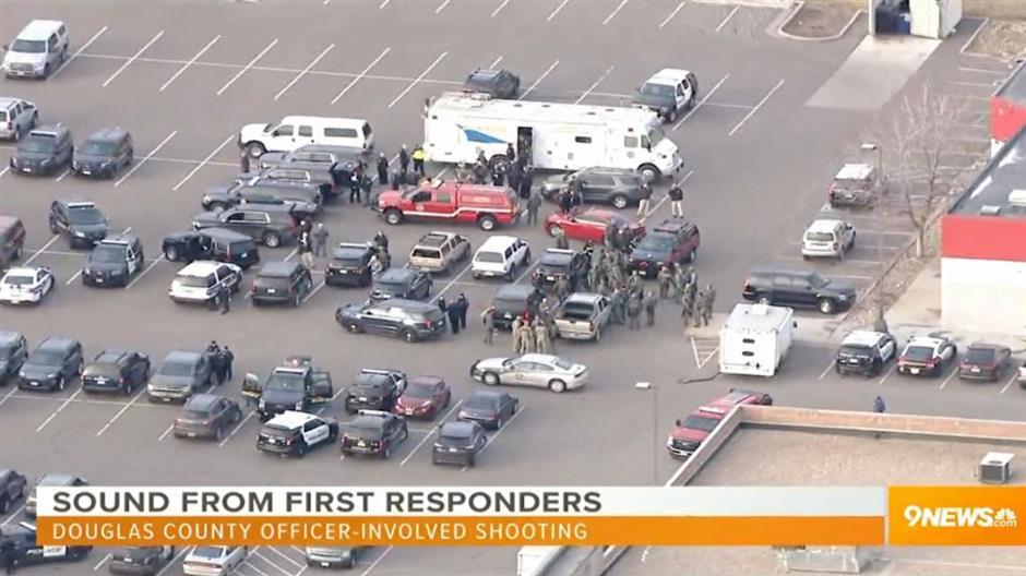 1 officer killed, 4 injured but suspect shot dead
