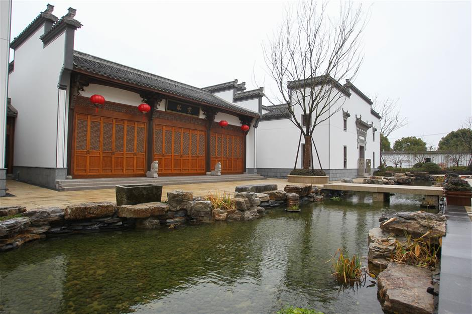 Ancient Hui architecture finds a home in Shanghai cultural park
