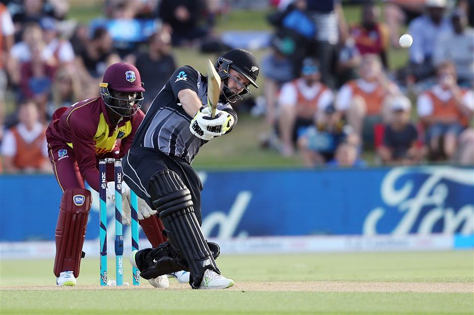 Munro on fire again as Kiwis crush West Indies
