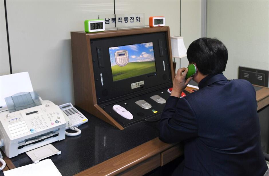 North Korea reopens  border hotlinewith South Korea