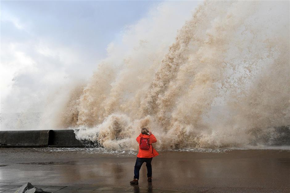 Severe storm batters western Europe; 1 dead, 15 injured