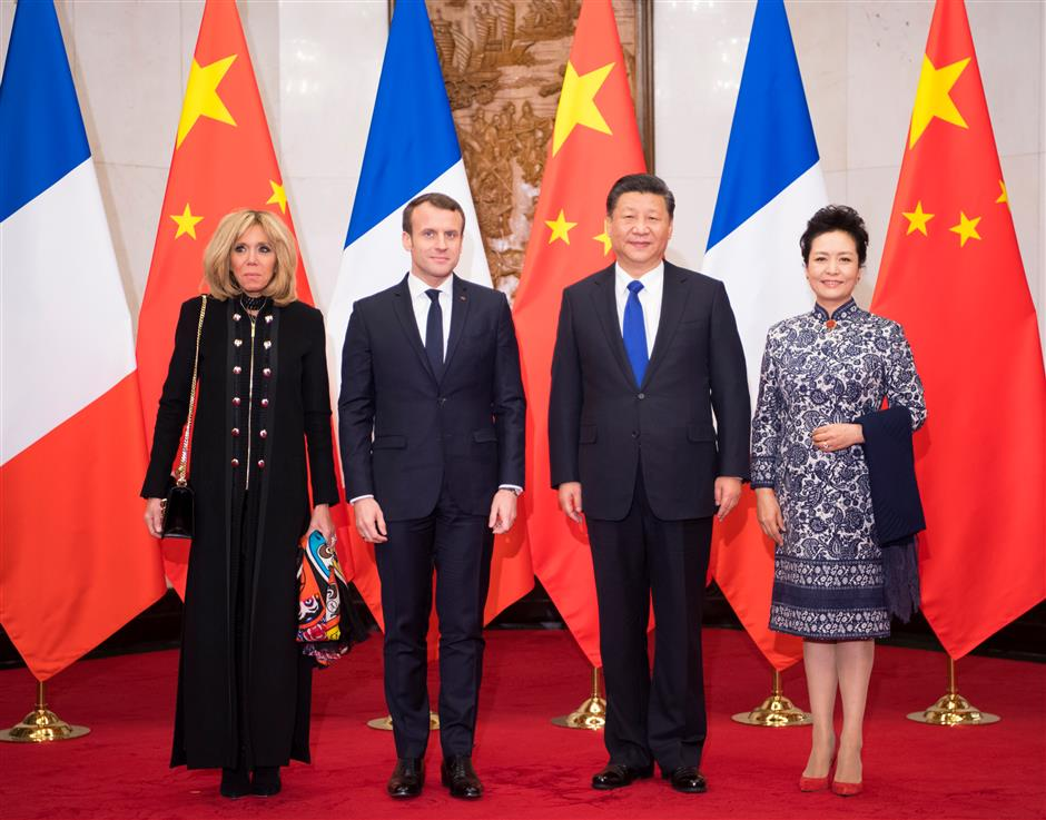 France seeks active role in Belt and Road