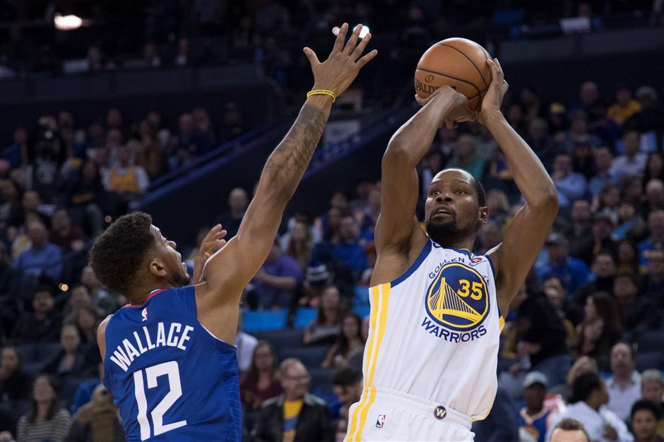 'Warrior' Durant joins the NBA's elites