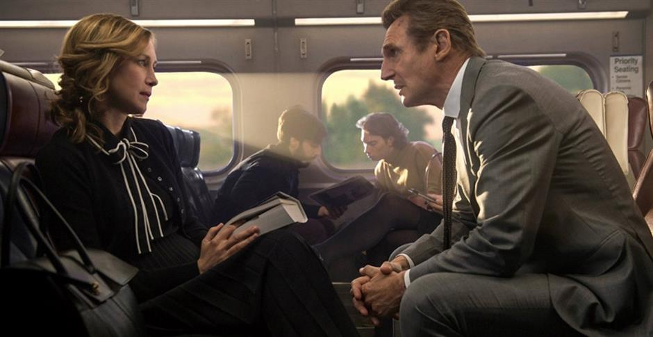 Neeson's 'Commuter' misses the ride