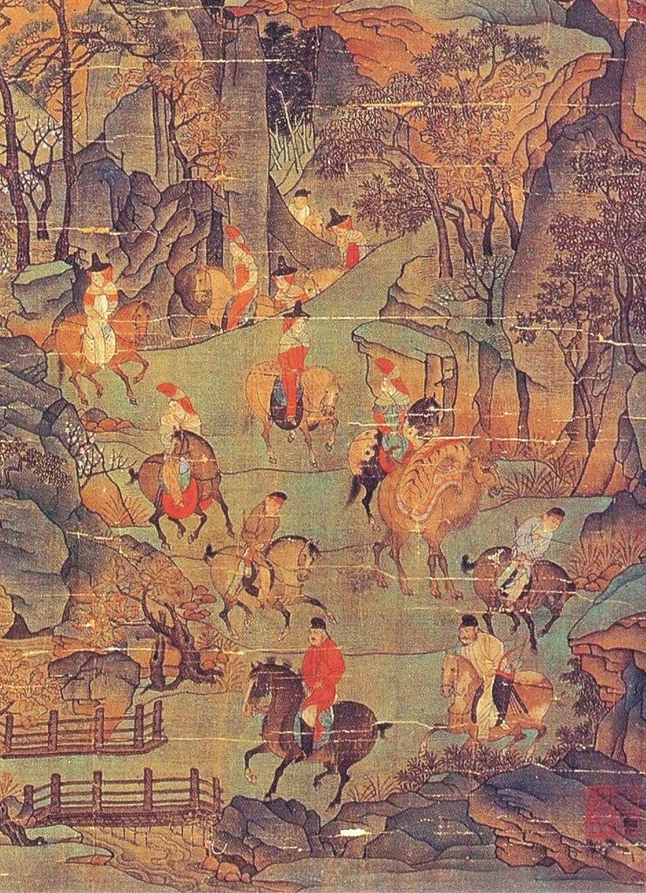 Emperor Xuanzong's Journey to Shu