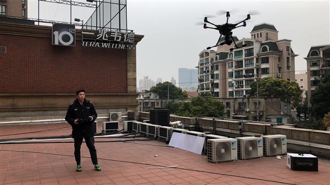 Drones help environmental law enforcement in downtown Shanghai