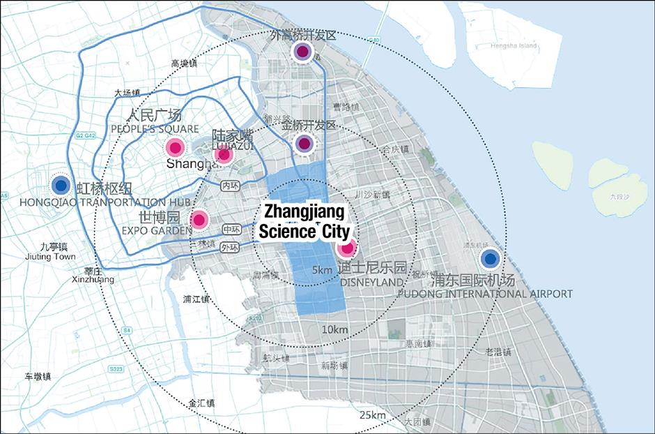 'Science City' to take Shanghai far into the future