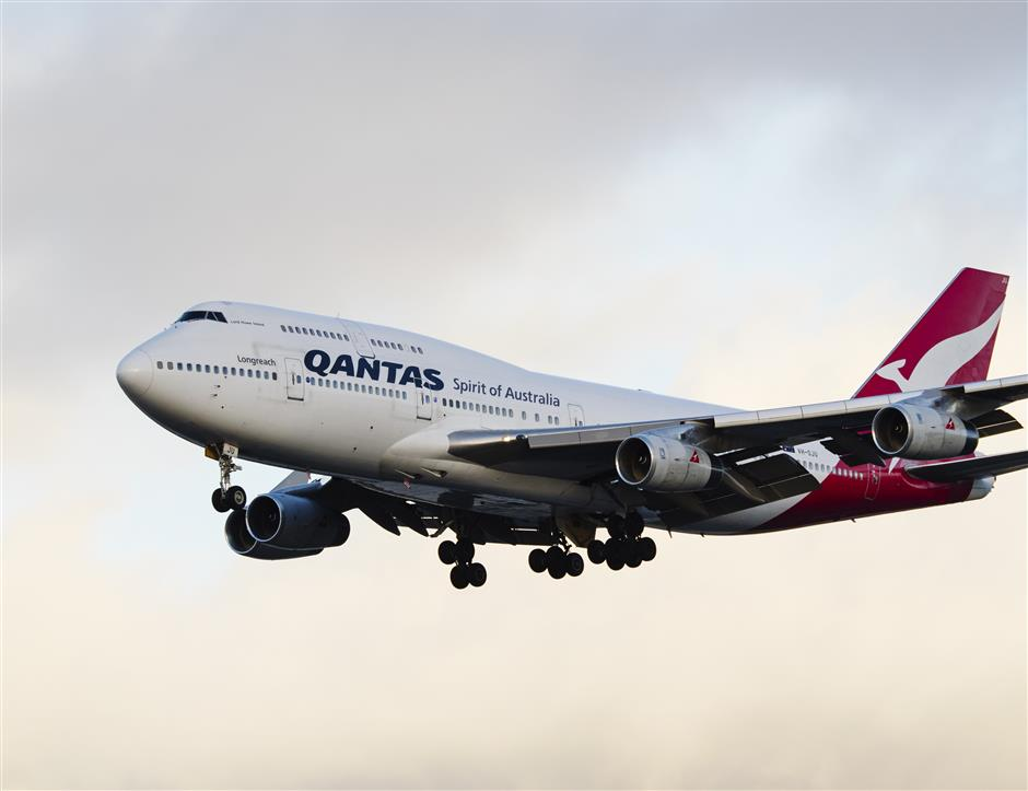 Qantas changes website to recognize Chinese territories