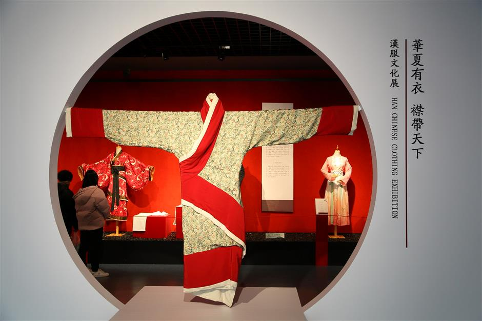 Traditional Hanfu costumes tell their own story