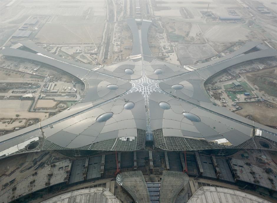 Beijing new airport to test run in October 2019