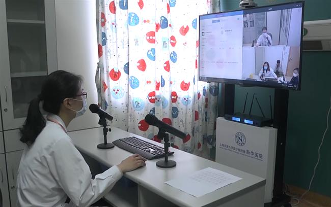 Cloud pediatric service and training system established in Shanghai