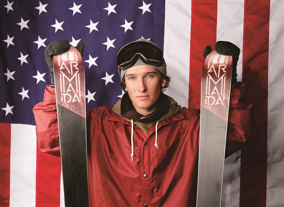Freestyle skier's slippery slope to Olympics