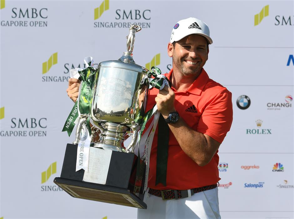 Garcia stamps class with Singapore win