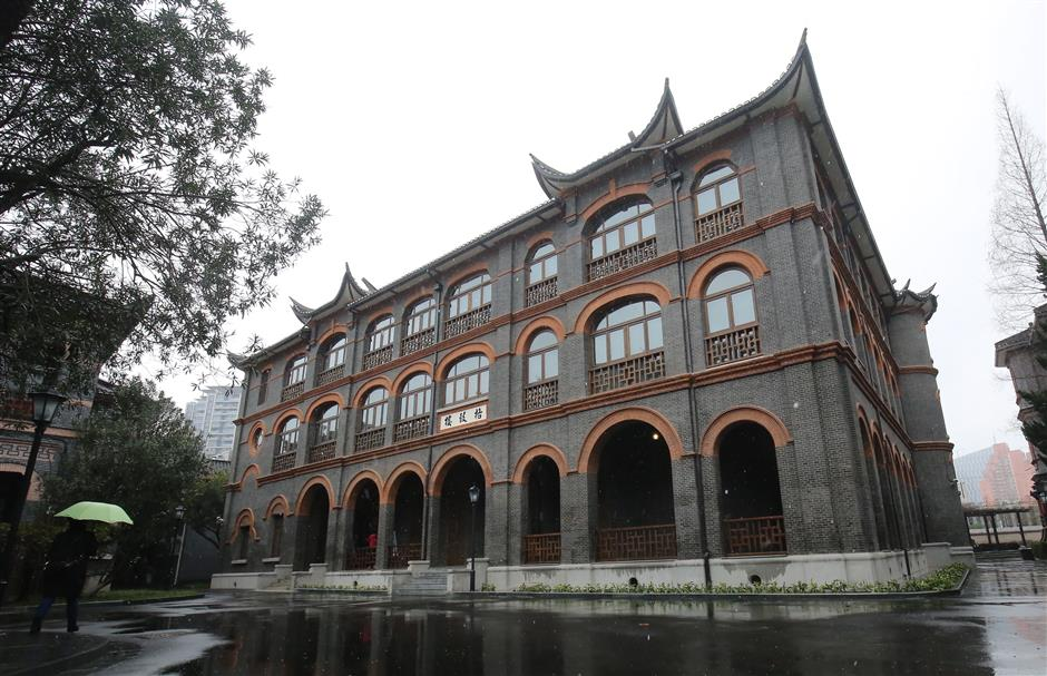 'Science Hall' restored to former glory