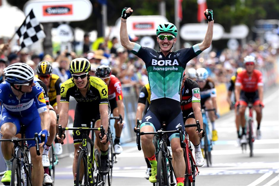 McCarthy wins Australian road race