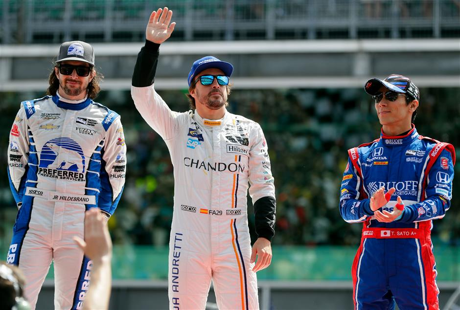 F1's Alonso to drive in Le Mans