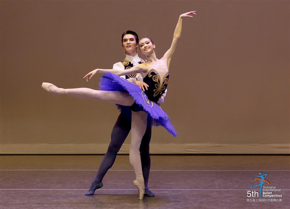 US$50,000 top prize at Shanghai ballet competition