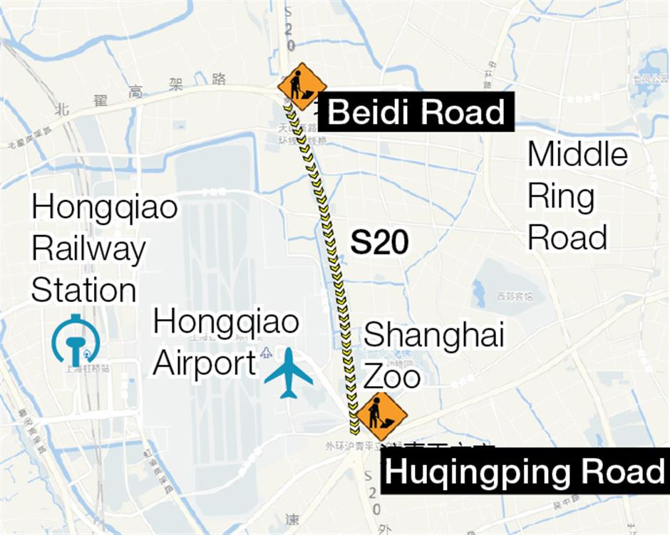 City makes expressway congestion predictions for holiday period