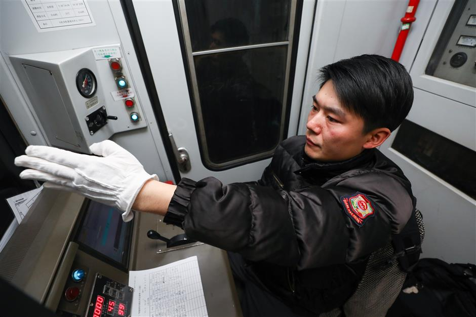 Holidays for most but Metro drivers happy to serve the public during Spring Festival
