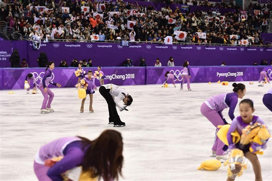 Pooh's your daddy! Hanyu not done after Olympic double